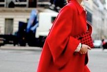 Pop of Red / #WbyWorth #StyleGetsSocial #StreetStyle #FallTrend