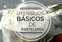 UTENSILIOS BÁSICOS DE PASTELERÍA / Más de 20 accesorios que necesitarás en para equipar el área de pastelería en tu #restaurante u #hotel.
