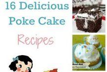 Poke Cake Recipes / Poke cake recipes.