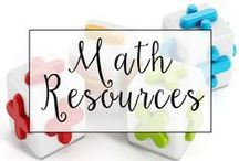 Math / From Common Core Math Skill sheets to fun math games, this is a collection of classroom resources and teaching ideas to help teach math.