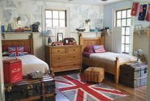 Boys Rooms / by Elizabeth Pate
