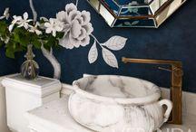 Bathrooms & Powder Rooms / by Loreen Álvarez Browne