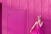 Hot Pink/Rosa Mexicano / by Loreen Álvarez Browne🌷