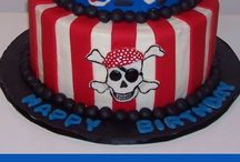 Landon's 3rd Birthday (Pirates...argh!!) / by Stephanie Cartwright-Rocco