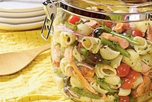 Pasta Salad / Salads that contain pasta in the recipe / by Brenda Law