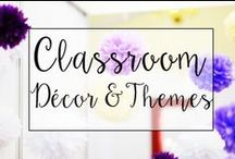 Classroom Decor/Themes / The Classroom is where the magic happens, so setting is important. You want students to feel comfortable and safe while encouraging learning.. This is a fun collection of classroom resources to make your classroom decor awesome!