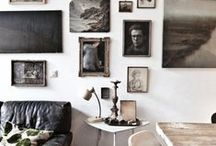 at home  /  display / - beautiful was to display personal momentos + art