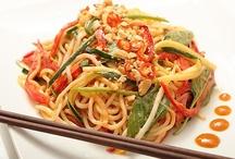 Vegetarian Asian Cuisine / Vegetarian Asian food.  / by Brenda Law