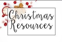 Christmas for the Classroom / This board has pins for Christmas math centers, Christmas gift ideas, Christmas reading activities and so much more!