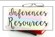 Inferences / This is a collection of classroom reading resources and teaching ideas all focused on teaching inferences in the classroom, including picture books, lesson plans, and anchor charts for making inferences.