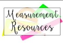 Measurement / This is a collection of classroom math resources and teaching ideas all focused on teaching measurement in the classroom, including measuring with rules and measurement conversions.