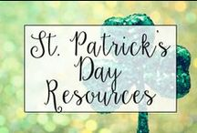 St. Patrick's Day in the Classroom / From classroom treats to St. Patty's Day classroom activities, this is a collection of classroom resources and teaching ideas to help teachers celebrate St. Patrick's Day in the classroom