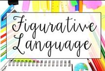 Figurative Language / This is a collection of classroom reading resources and teaching ideas all focused on teaching figurative language in the classroom, including figurative language anchor charts, figurative language centers, and figurative language lesson plans.