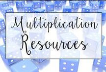 Multiplication / This is a collection of classroom math resources and teaching ideas all focused on teaching multiplication in the classroom, including multiplication centers, multiplication anchor charts, and multiplication lessons.