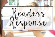 Reader's Response / From Reader Response checklists to graphic organizers, this is a collection of classroom resources and teaching ideas to help  teachers improve student's written responses about what they are reading.