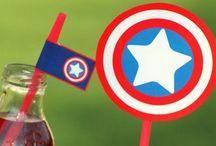 Superhero Birthday / by Stephanie Cartwright-Rocco