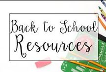 Back to School / From back to school centers to classroom procedures, this is a collection of classroom resources and teaching ideas to help teachers with Back to School Ideas!
