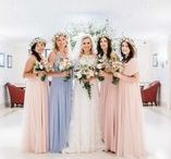 Real UK Weddings | twobirds Bridesmaid / A collection of real wedding images from the UK featuring twobirds multiway bridesmaid dresses.
