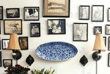 art wall / Picture wall is great decoration idea. There can be what ever you want!