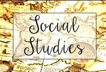 Social Studies / From virtual field trips and Civil War Lesson Plans to a list of Common Core Social Studies texts, this is a collection of classroom resources and teaching ideas to help my fellow teachers lesson plan for Classroom Social Studies.