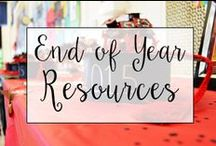 End of Year / From field day and end of year projects to summer reading lists and education websites, this is a collection of classroom resources and teaching ideas to help teachers with wrapping of the End of the School Year.