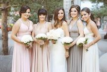 Real Canada Weddings | twobirds Bridesmaid / A collection of real wedding images from Canada featuring twobirds convertible bridesmaid dresses.