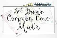 3rd Grade Common Core Math / This is a collection of classroom resources for teaching 3rd Grade Common Core Math - skill sheets, lesson plans, common core aligned math centers.