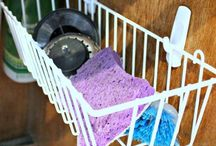 Cleaning tips and ideas / by Stephanie Cartwright-Rocco