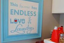 Laundry room / by Stephanie Cartwright-Rocco