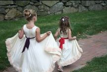 Flower Girl, Ring Bearer & page boy inspiration by twobirds Bridesmaid