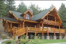 Log Homes / by Gregg Bryant