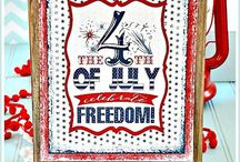 Holidays: July 4th, Memorial Day, Flag Day, etc.