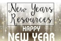 New Years in the Classroom / From New Years Resolutions to fun classroom activities, this is a collection of classroom resources and teaching ideas to help my fellow teachers with New Years Day Lesson plans.
