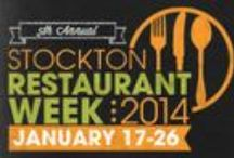 2014 Stockton Restaurant Week / Stockton Restaurant Week gives local foodies and families the opportunity to enjoy unique fixed-price specialty menus from many participating restaurants throughout Stockton, California. Three-course dinner offerings will be available at $15, $20, and $25 and two-course lunch specials will be offered for $10. For more information, visit www.stocktonrestaurantweek.com / by Visit Stockton