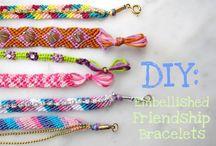 Friendship Bracelets / My DIY Friendship Bracelet Board! / by Caitie