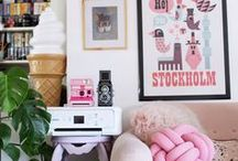 My girly home / my girly home : lot of pink, a slice of glitter and many cute things for having fun and colored life