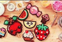 Hama beads food  / Hama beads food
