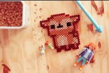 Hama beads personnages
