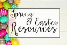 Spring & Easter in The Classroom / From classroom treats to Spring and Easter classroom activities, this is a collection of classroom resources and teaching ideas to help teachers celebrate the beauty of Spring with their students! Also includes ideas for Earth Day, Mother's Day, and the end of the school year!