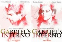 "#FanArtFriday / Home for the fan created ""move or tv"" posters contest for Gabriel's Inferno  To 'support' a film: http://www.iflist.com/stories/gabrielsinferno  VOTE FOR YOUR FAVORITE BY CLICKING THE HEART"