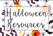 Halloween in the Classroom / Halloween activities and resources for the classroom.
