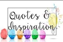 Quotes and Inspiration for Teachers / Educational and motivational quotes for teachers.