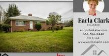 Under Contract - 7074 Prospect Church Road, Thomasville, NC 27360 / USDA eligible with acreage! Close to highways and shopping. Brick home with spacious rooms and opportunity to make it current and modern. This well built home has a large kitchen, large living area, 2 big bedrooms and 1 1/2 baths on a basement. Take a look at this one and make it your own. Keller Williams Realty - Triad Connections Team: Earla Clark
