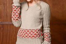 Des pulls (idées tricot)