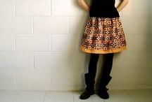 Des vêtements (idées couture)