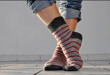 Des chaussettes (idées tricot)