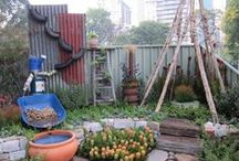 Urban Gardens / Rooftop, community and small gardens continue to pop up in cities and urban areas throughout the world.  Here are just a few examples.