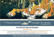 The 2014 Cut Paper Art Calendar / 12 months, 365 days, a dozen eye-popping art images, infinite imagination, and a whole lotta paper. It includes both American and Japanese holidays, and there's plenty of space for you to fill it with all the things you love to do.