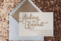 Invitaciones de boda | Wedding invitations, wedding stationary / Ideas para tus invitaciones de bodas | Wedding invitations ideas, creative wedding invitations, wedding stationary.