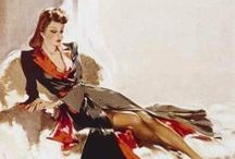 Pin Up, Pulp and Illustrations